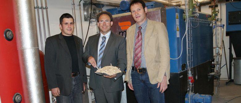 Eröffnung der Biomasseheizung
