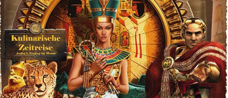 Kulinarische Zeitreise: An der Tafel von Cäsar und Kleopatra