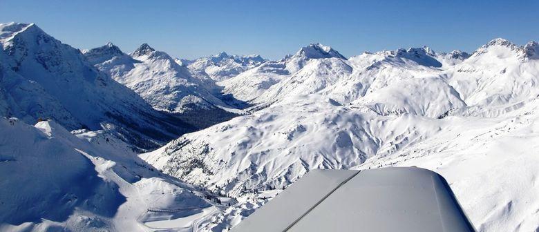 Rundflugteam-Flugplatz Hohenems - Winter schau´n...