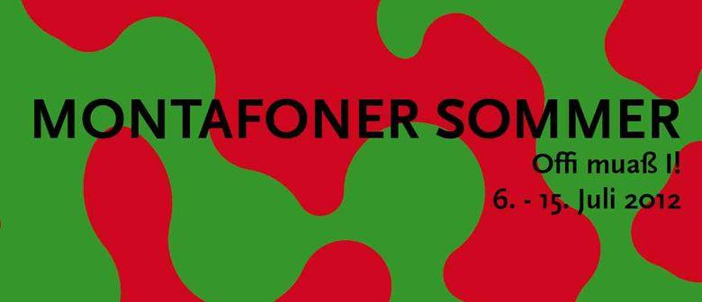 """Kulturfestival Montafoner Sommer """"Offi muas i!"""""""