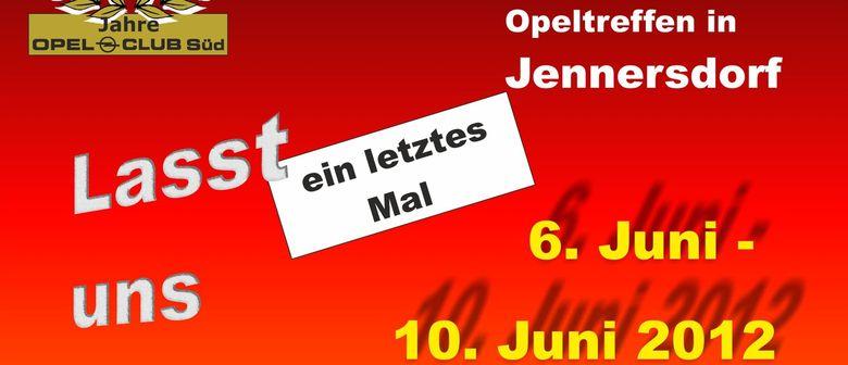 15. Int. Blitz-Weekend ...Opeltreffen in Jennersdorf