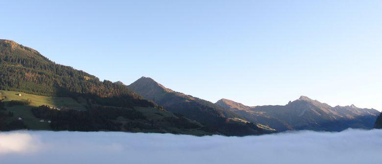 Alpenwanderung am Walserkamm