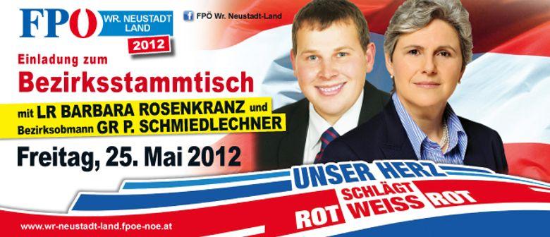 Bezirksstammtisch der FPÖ Wr. Neustadt-Land