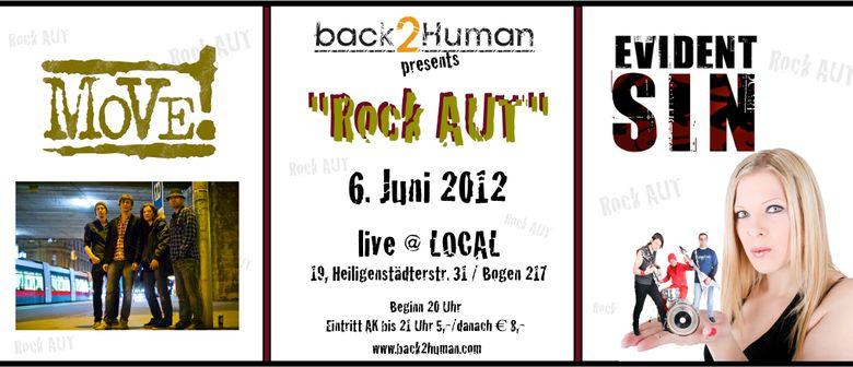 "Back2Human presents: ""Rock AUT"" - Evident Sin + Move"