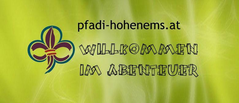 80 Jahr-Feier der Pfadfindergruppe Hohenems