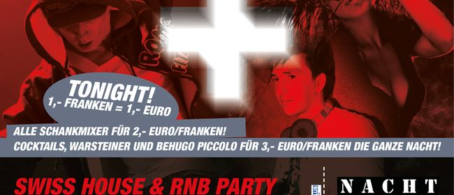 SWISS HOUSE & RnB PARTY meets LIVE VIDEO MIXING