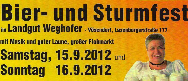 BIER- UND STURMFEST 2012 im Landgut Weghofer