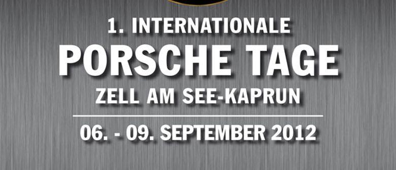 1. Internationalen Porsche Tage in Zell am See-Kaprun