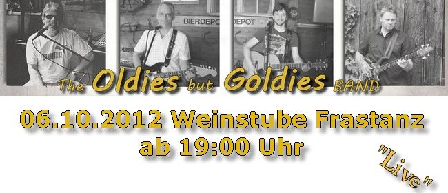 """Oldies but Goldies Band"" in der Weinstube Frastanz"