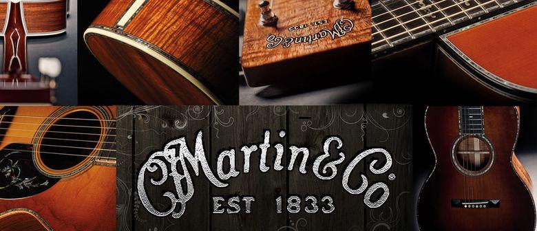 Martin Guitars Ausstellung