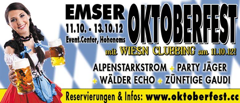 4. Emser Oktoberfest - Aufbrezeln 2012