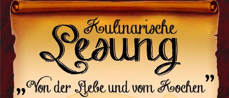 KULINARISCHE LESUNG mit Walter Müller