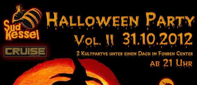 Halloween Party Vol. II im Sudkessel & Cruise Partyclub