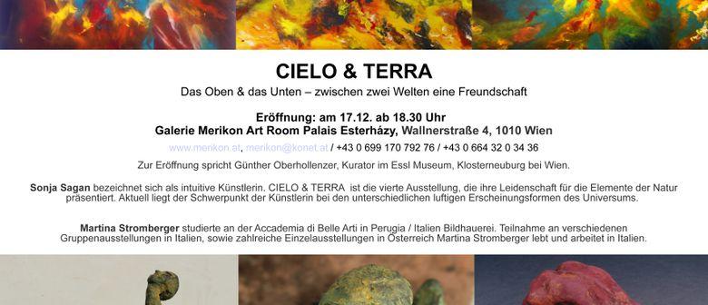 Ausstellung  *Cielo & Terra* - Galerie Merikon Art Room