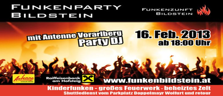Funkenparty Bildstein