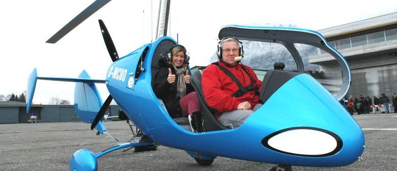 Rundflugteam-Flugplatz Hohenems - Tragschrauberfeeling