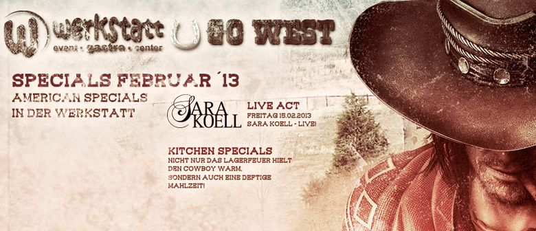 SARA KOELL - Live in Concert in der WERKSTATT IMST