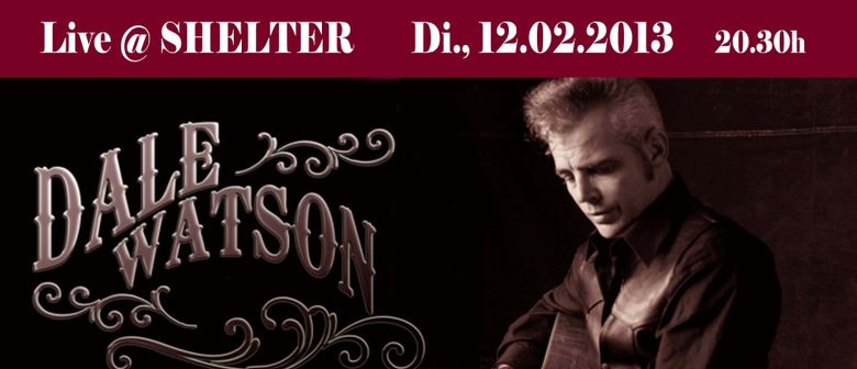 DALE WATSON (USA) live @ Shelter Music Club