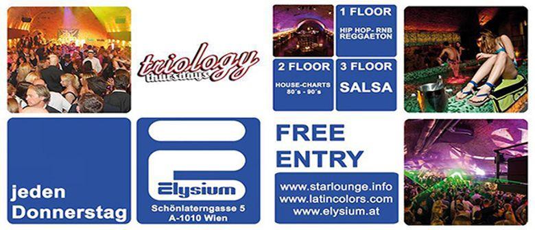 Triology Thursday @ Elysium
