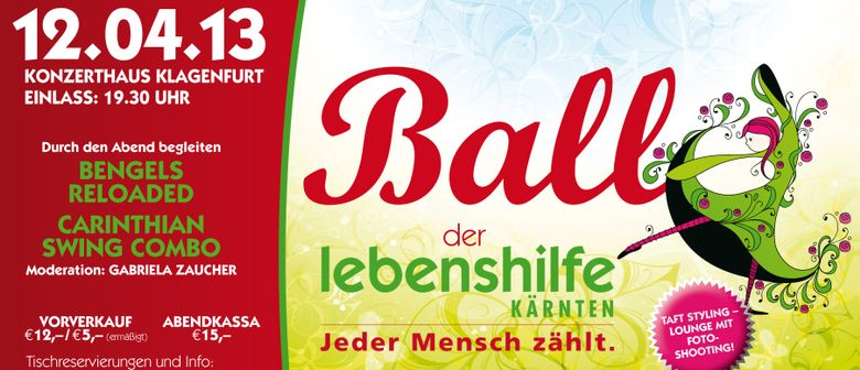 Ball der Lebenshilfe Kärnten
