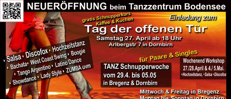 Neu: Salsa in Dornbirn