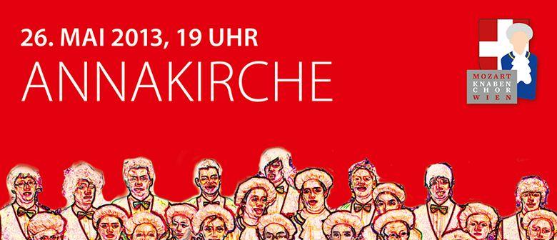 Konzert des Mozart Knabenchor Wien