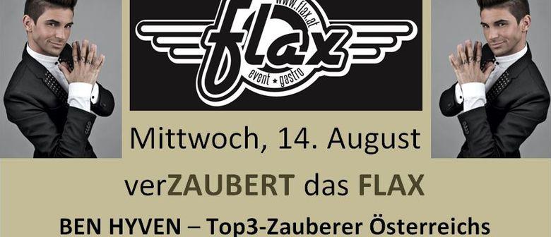 Ben Hyven - Österreichs Top-3 zaubert im Flax