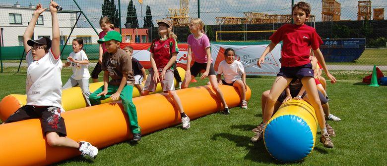 Familiensportfest im ASKÖ Bewegungscenter Trumau
