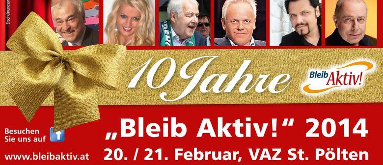 """10 Jahre """"Bleib-Aktiv!"""" Jubiläumsmesse"""