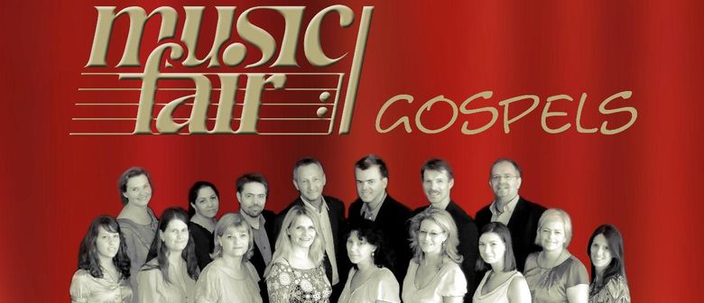 "Gospelkonzert ""Spirit of God"" des Vokal-Ensembles music fair"