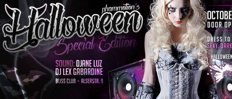 """HALLOWEEN """"Special Edition"""" presented by phaMMotion"""