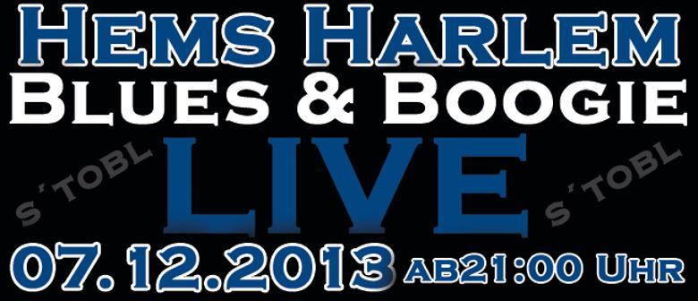 Live @ s´tobl   >>Hems Harlem<<