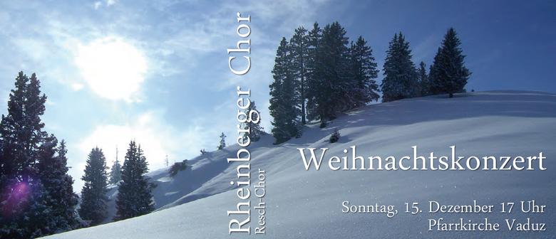 Weihnachtskonzert Rheinberger Chor