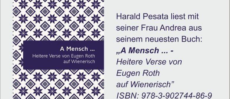 A Mensch ... Heitere Verse von Eugen Roth auf Wienerisch