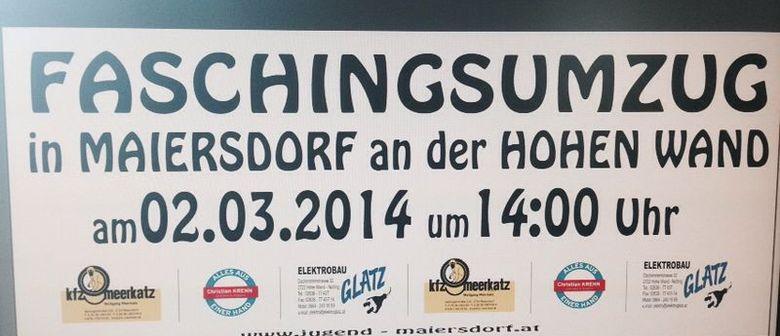 Faschingsumzug in Maiersdorf an der Hohen Wand