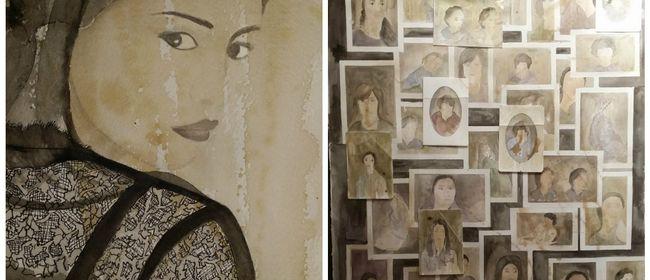 """SOLO EXHIBITION Mervat Alameer """"Memories"""""""