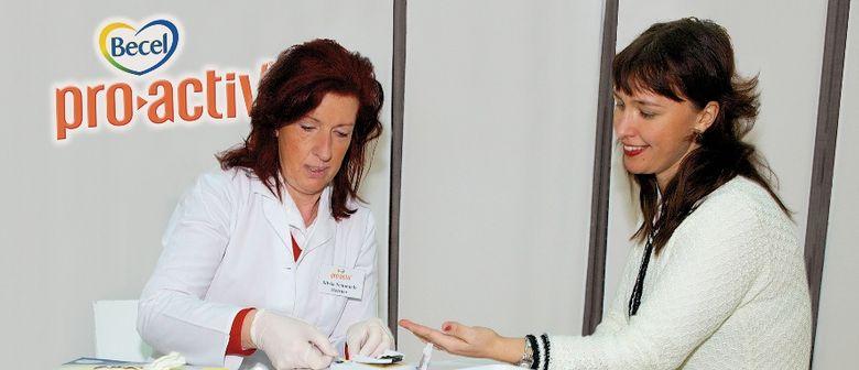 Kostenlose Cholesterintests in ganz Österreich
