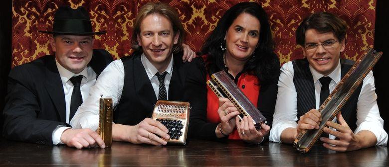 Vize-Weltmeister der Mundharmonika heizt in Kottingbrunn ein