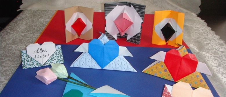 Origami-Osterschmuck-Workshop