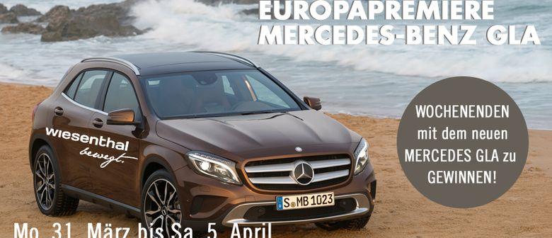 Europapremiere des Mercedes-Benz GLA!