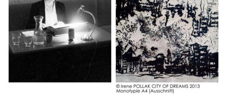 Christl Greller und Irene Pollak bilder.worte.töne