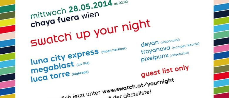 swatch up your night