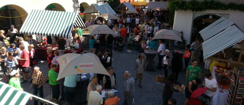 Brot- und Strudelmarkt in der Bludenzer Altstadt