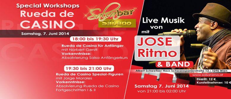 SALSABAR SÀBADO mit Live Musik von José Ritmo