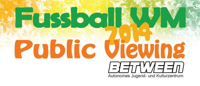 Public Viewing zur Fußball WM 2014 in Bregenz