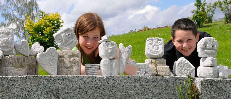 """Bildhauerwerkstatt """"Köpfe aus Ytong"""""""