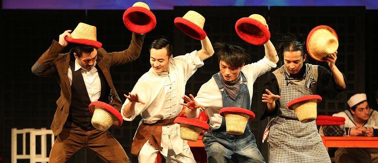 CHINESISCHER NATIONALCIRCUS-THEATERTOUR 2015-SHANGHAI NIGHTS