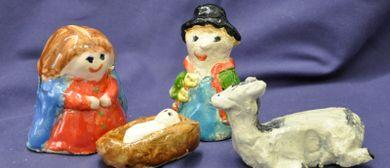 "Kinder Keramikkurs ""Krippenfiguren"""