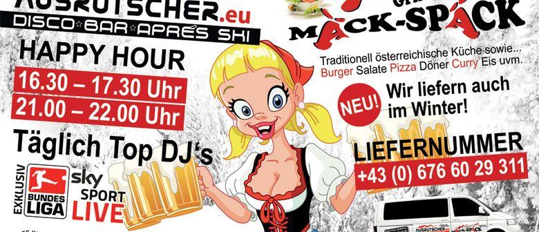 Täglich Party Night & Apreski Party  @ ausrutscher.eu
