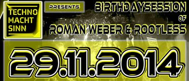 TECHNO MACHT SINN BIRTHDAY SPECIAL // STROBETECH